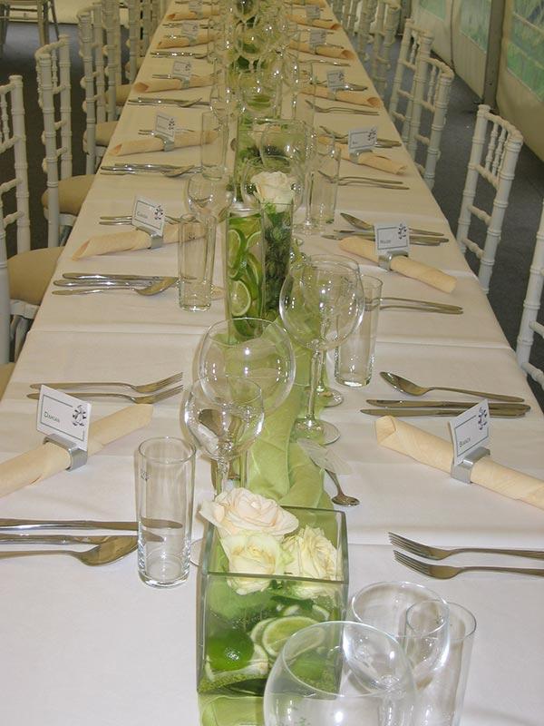 Festliche dekoration f r alle anl sse blumendeko lorey for Tischdekoration festlich